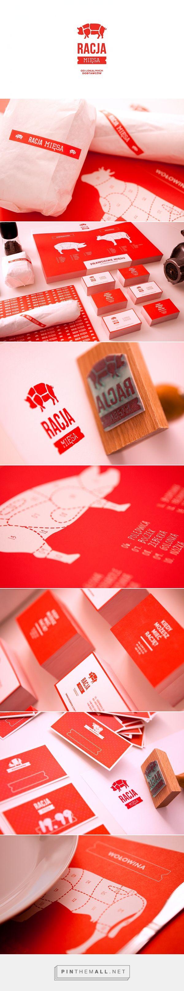 包装Diva PD策划的Behance的RACJAMIĘSA包装品牌。猜猜它是晚餐的猪肉:) PD