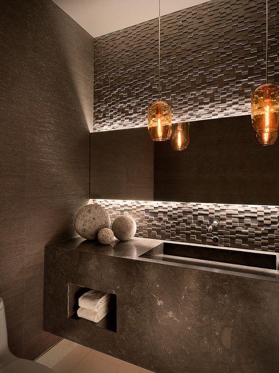 Ownby Design's Design   Modern Bathroom