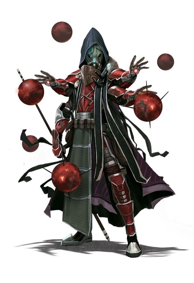 Kasatha Mystic - Starfinder RPG (Core Rulebook Art)