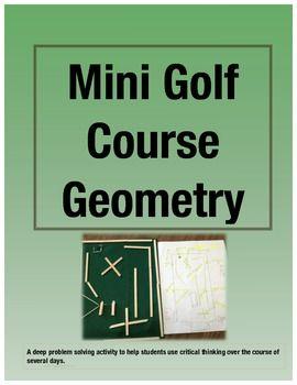 每个人都喜欢迷你高尔夫!在这个数学项目中,学生们在纸上设计迷你高尔夫球场洞,购买用品,并将其设计作为模型。这是一个引人入胜的数学项目,成为学生的最爱。这个数学项目已被用于全班三年级学生,小组天才学生和四年级学生。