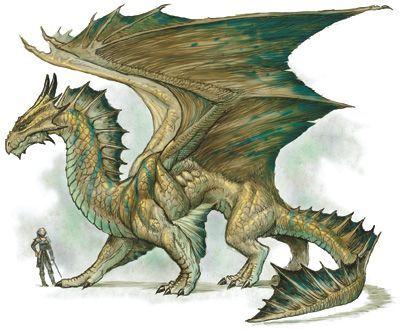 bronze dragon d&d - Google Search