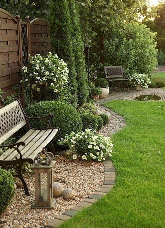 华丽的前院花园景观设计(21)
