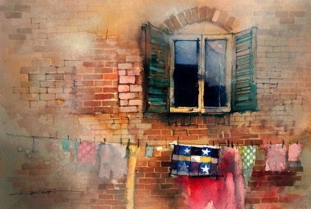 Another great watercolor lesson from the brilliant John Lovett