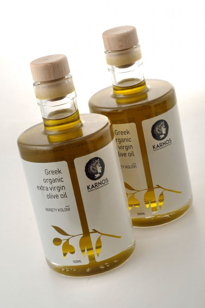 KARNOS olive oil is a limited premium product of 100% Greek organic olives from special varieties.