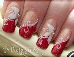白色圣诞花......