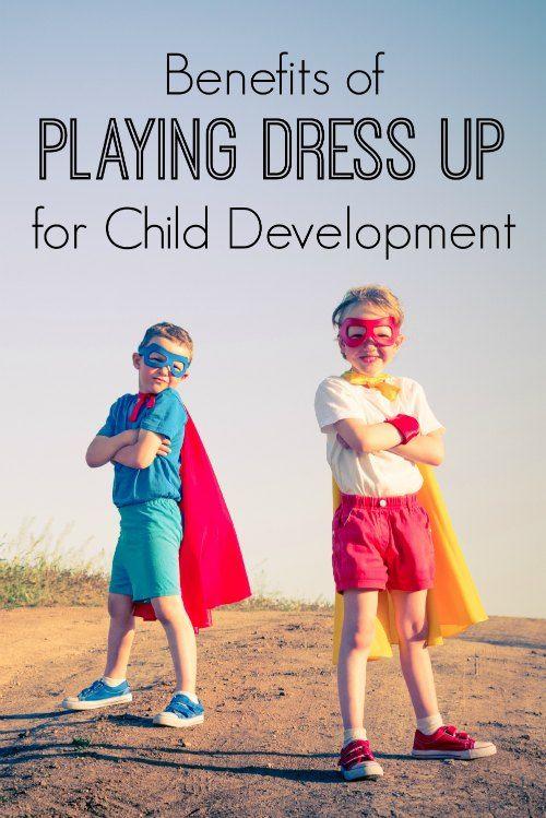 如果您的孩子喜欢经常打扮,请不要担心。为孩子的发展打扮装扮实际上有很多好处。