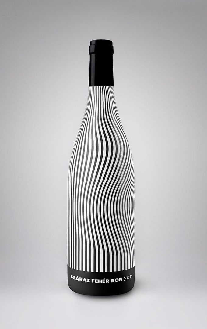 Stunning wine label design.