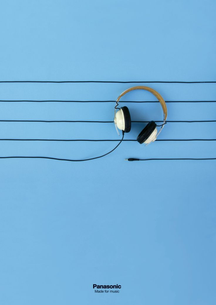 "Graphic design for Panasonic ""Made for music"". Work created to enter the 2011 Laus Design Award."