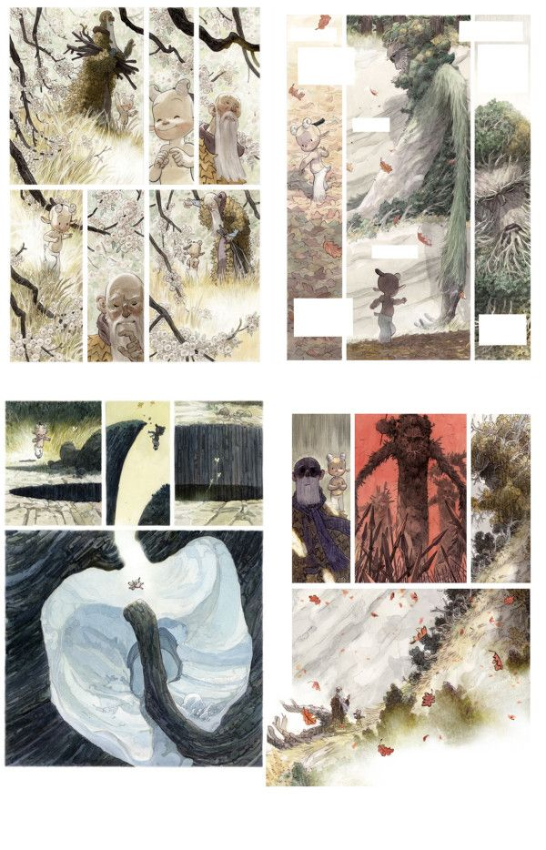 Man Arenas: Canto I: from thumbnails to pages