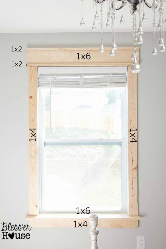 学习如何添加矮胖窗口修剪简单的方法,没有任何复杂的斜切或特殊设备。