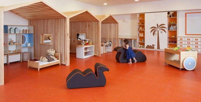 Kfar Shemaryahu Kindergarden由Sarit Shani Hay设计微型房屋