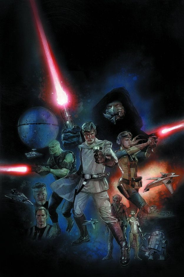 New Star Wars comic based on the old concept by the master Ralph McQuarrie