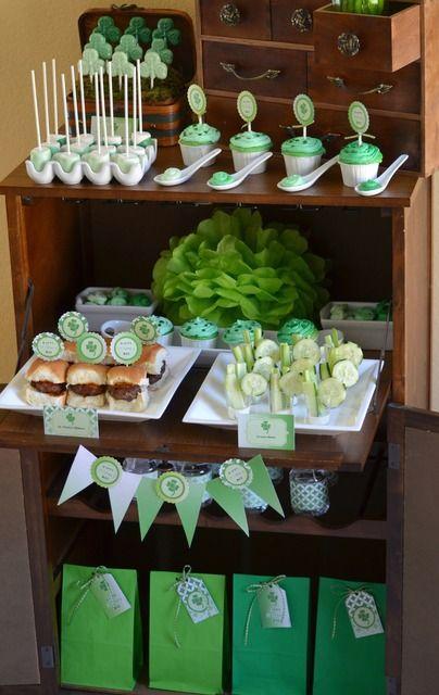 Crissy的工艺品M的圣帕特里克节/绿色Ombre  - 照片画廊在Catch My Party