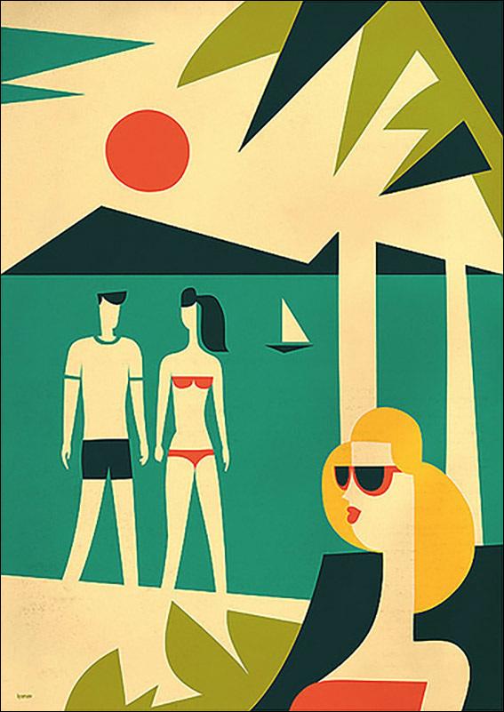 illustration / martini by iv orlov
