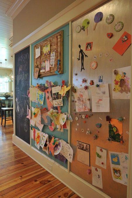 伟大的艺术墙为孩子们
