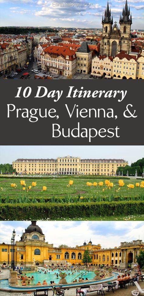 如何在布达佩斯,维也纳,捷克克鲁姆洛夫和布拉格游览10个神奇的日子。