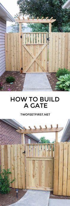 你想知道如何建造一个木门吗?这是一个如何为您的围栏建造木门的教程。这个门将更新任何空间!