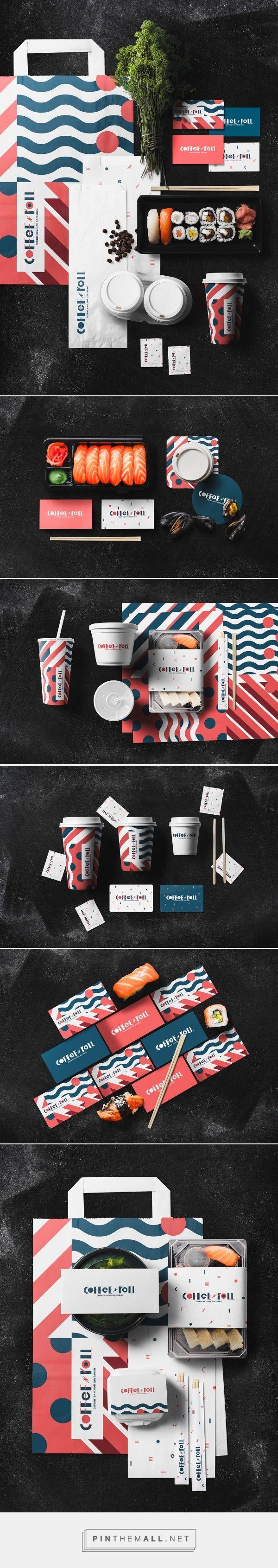 Behance的日本食品配送服务的品牌和包装由俄罗斯联邦Dimitry Neal Orel策划,由Packaging Diva PD策划。给我注册:)