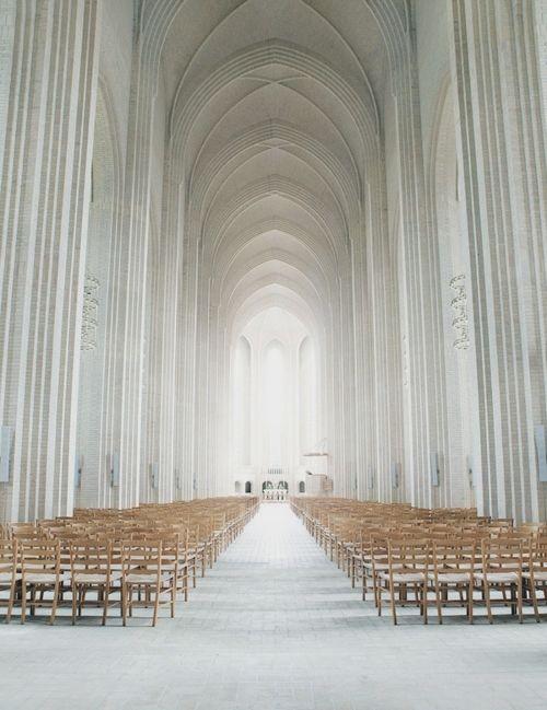 I would like to worship here, in the stillness and light. Hallgrímskirkja, Reykjavík, Iceland.