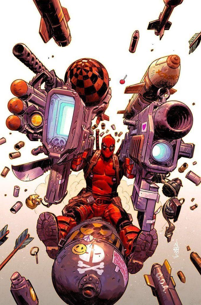 Deadpool Vol.7 #2 by Nic Klein *