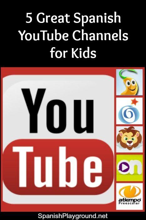 西班牙语YouTube视频是真实语言的绝佳来源。五个西班牙语YouTube频道,带有可用于学习西班牙语的孩子的视频。