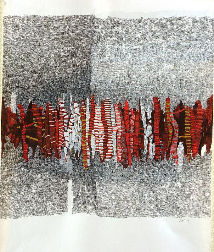 Sophie Munns的种子胶囊。包裹着令人难以置信的可爱背景的面料?