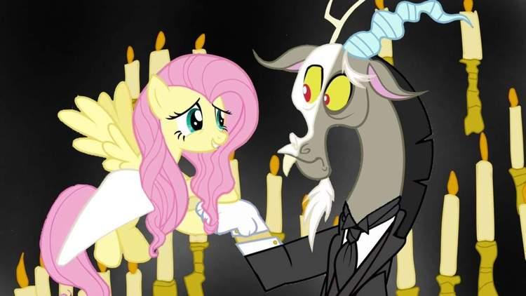 Fluttershy and Discord - Phantom of The Opera by ImmortalNightStalker.deviantart.com on @DeviantArt