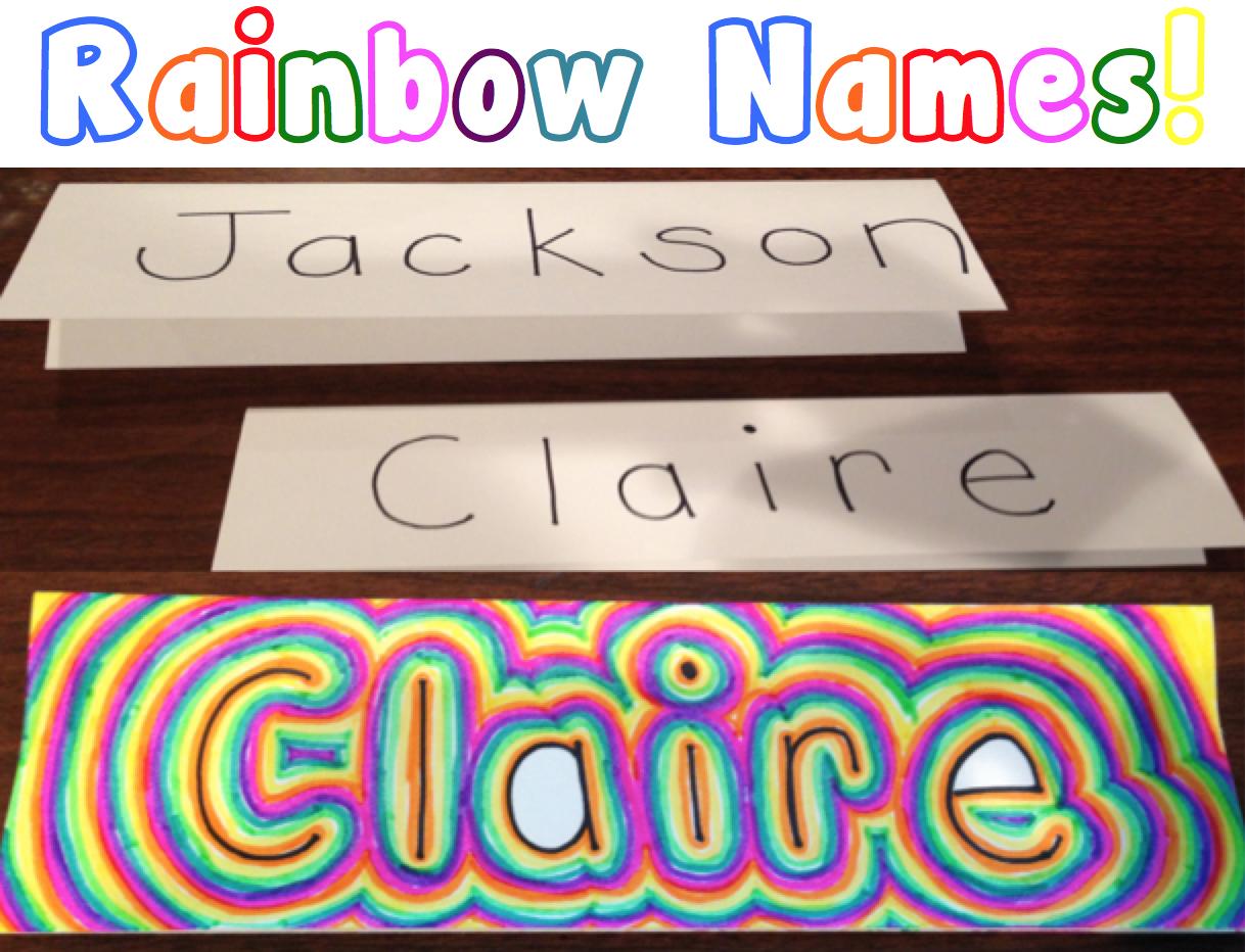 Rainbow为小学生命名艺术活动