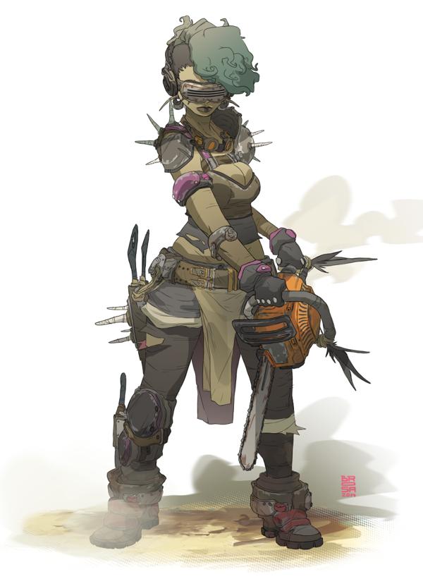 Characters by Sergi Brosa, via Behance