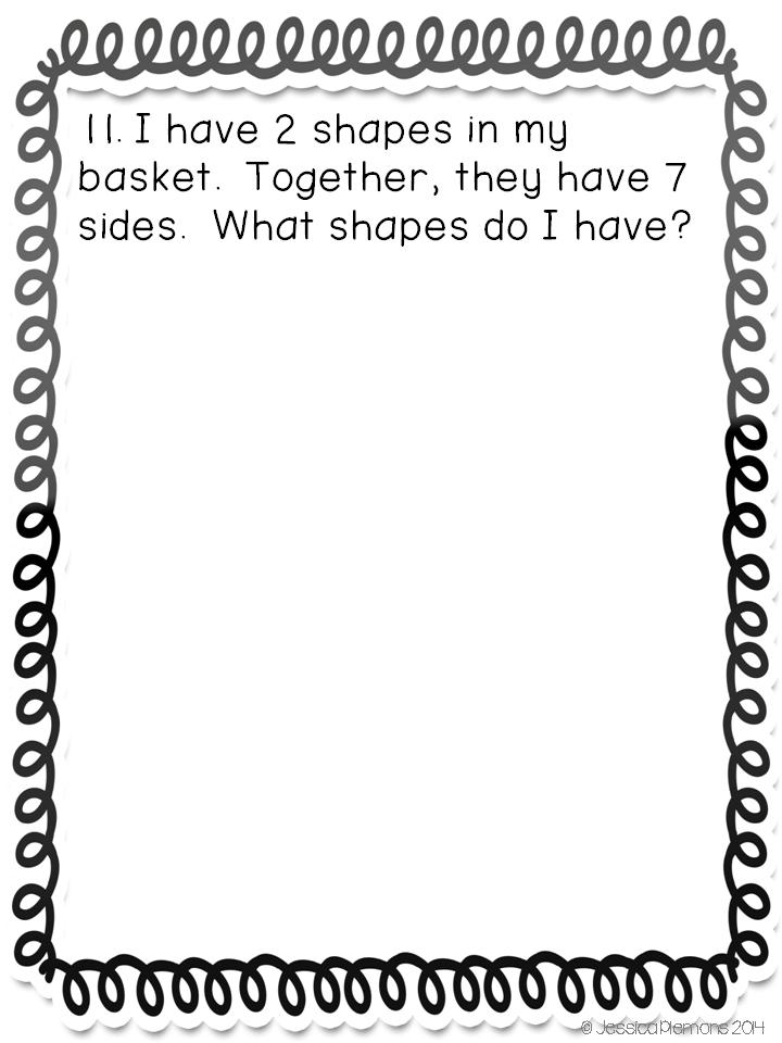 鼓励批判性思考!你是否需要让孩子解决问题并解释他们的想法而不寻找正确的答案?试试这套几何数学期刊!学生每天也可以在这些日志提示上工作一次
