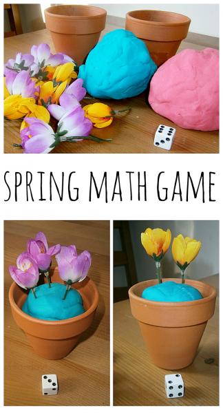 这个春天的数学游戏为孩子们设置很容易,玩的乐趣,并触及重要的早期数学技能。数学游戏的孩子们是有趣的学习方式!