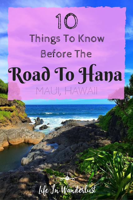 毛伊岛和哈纳之路让人兴奋吗?在开始徒步旅行之前,我希望我知道一些事情!