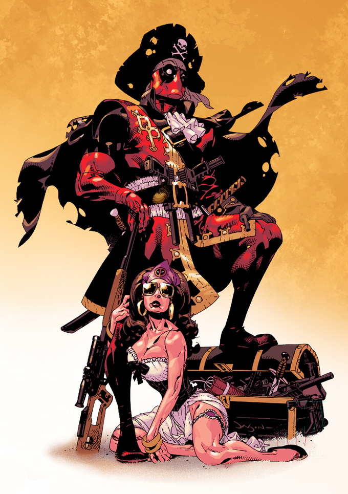 Deadpool the Pirate  by Jason Pearson