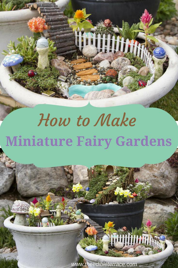 你想制作你自己的微型童话花园吗?它不仅对家庭所有成员都很有趣,而且也是一件了不起的礼物。