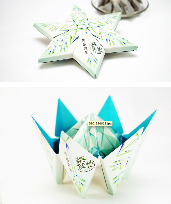 Reach for the stars #tea #packaging PD