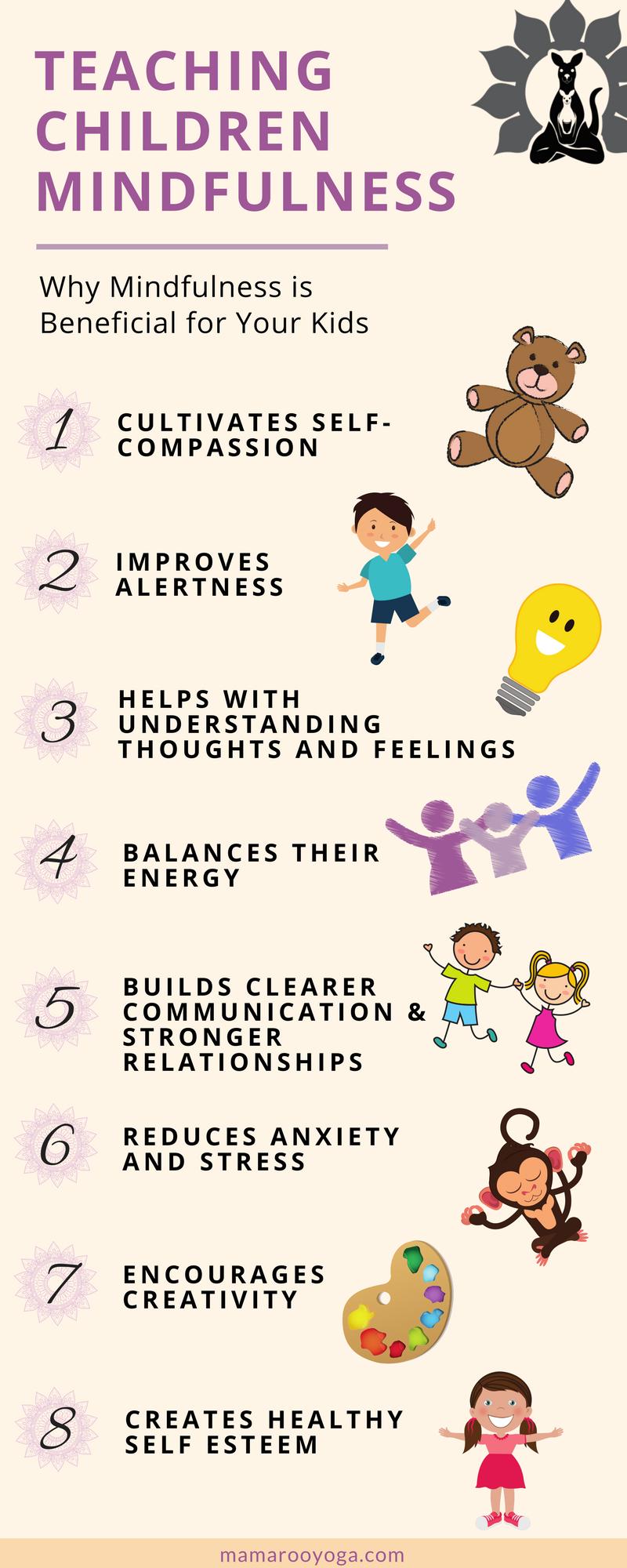 3+提示,教导你的孩子正念,赋予他们权力并带来现在的意识,并且随着他们的成长和开始选择他们的个人价值观。