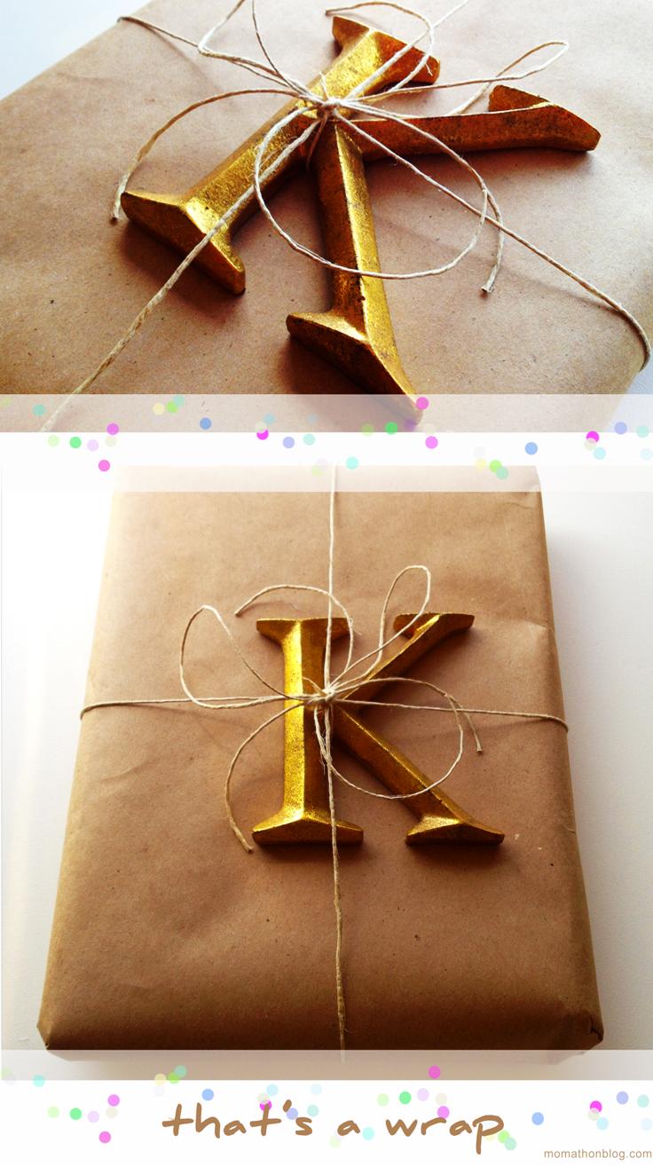 十大美丽的DIY包装纸包装理念
