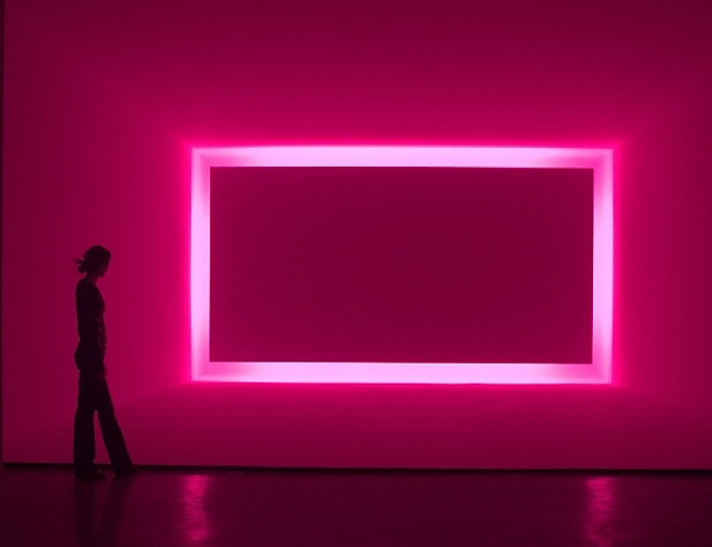 "Relaxing With Turrell ""We usually use light to... - artnet"
