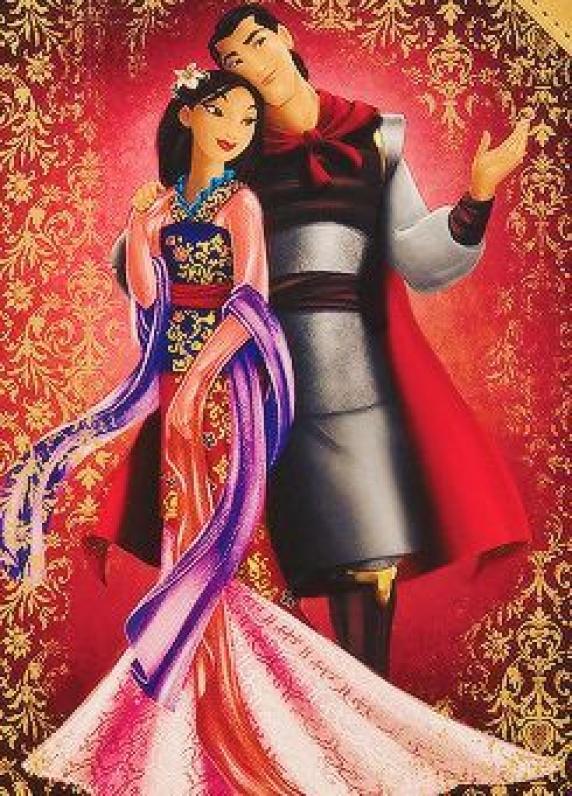 木兰与尚,迪士尼童话设计师系列