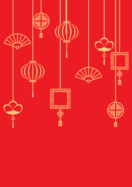 Chinese new year poster #17807