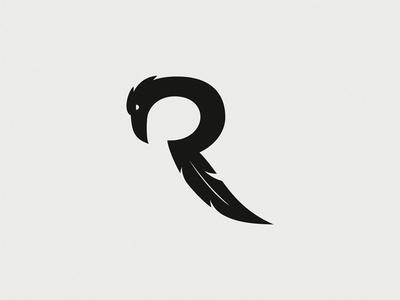 乌鸦字母R(未使用的标志)