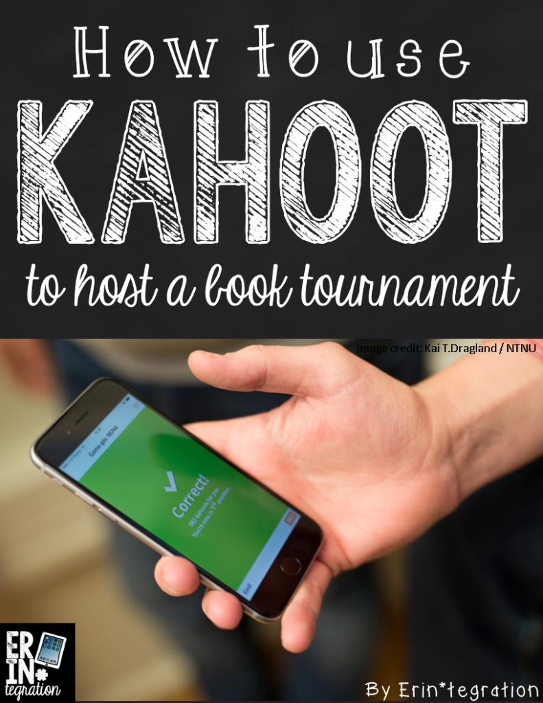 通过使用免费的网络应用程序Kahoot举办书籍比赛,庆祝教室里的疯狂三月。设置书架并与Kahoot一起投票。学到更多。