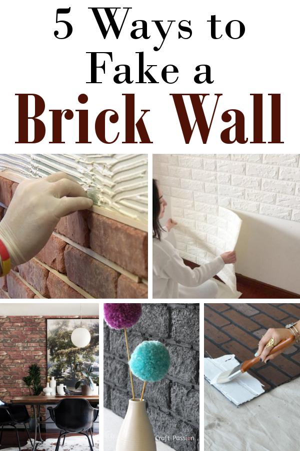 如何伪造砖墙#DIYHSH#DIY #HomeDecor
