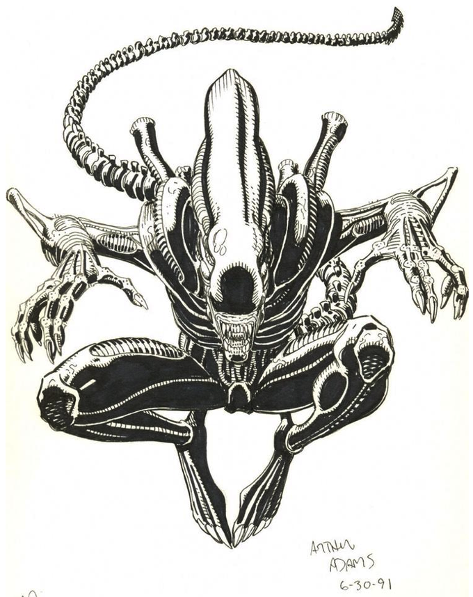 Xenomorph by Arthur Adams