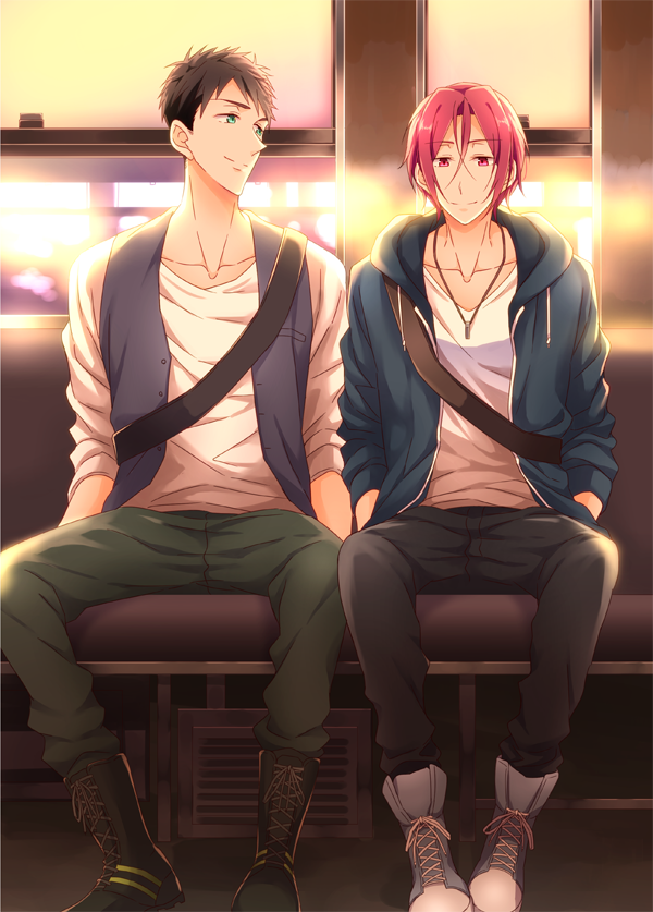 Sousuke and Rin