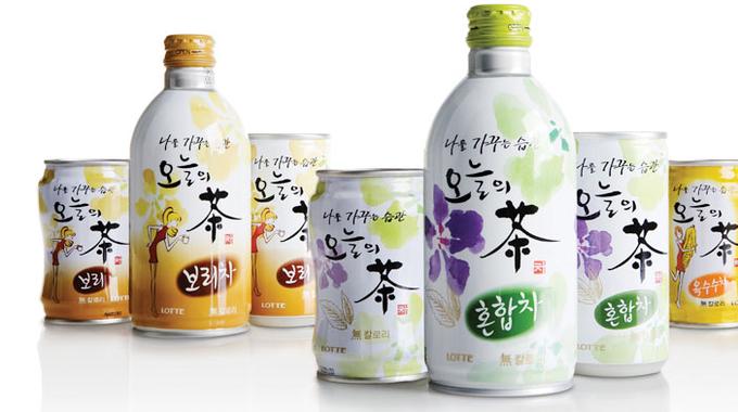 Oh Neul Eui Cha tea packaging