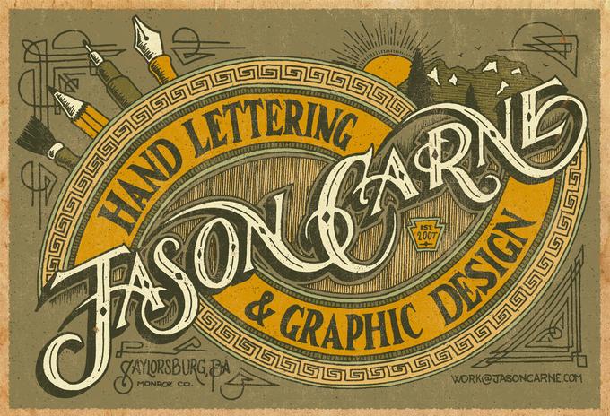 Jason Carne Trade Card - Final by Jason Carne