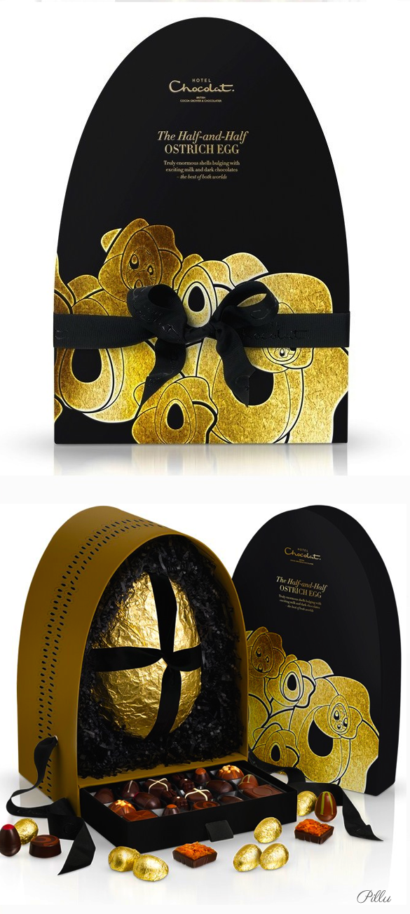 Hotel Chocolate Easter #chocolate #packaging #Easter PD