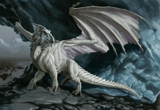 d&d white dragon - Google Search