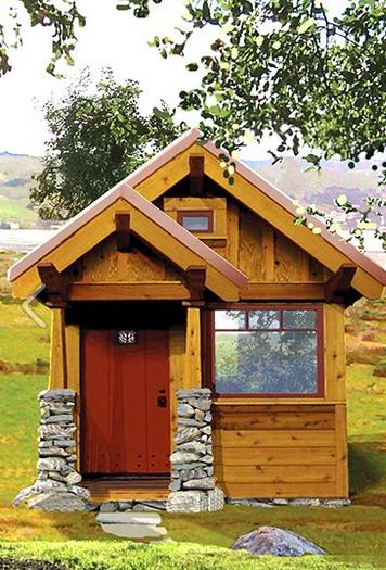如何通过这些简单易行的计划来建造一间小房子。建立你一直梦寐以求的小房子吧!